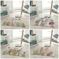 Cartoon Rabbit Cute Printing Carpet Baby Room Hallway Doormat