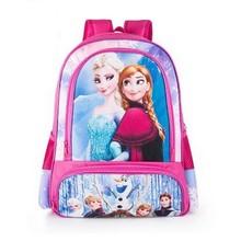 Schnee Prinzessin 5D Cartoon Schultasche Rucksack Jungen Kinder Kinder Schultaschen Rucksäcke Baby Kind Escolar Infantil Mochilas