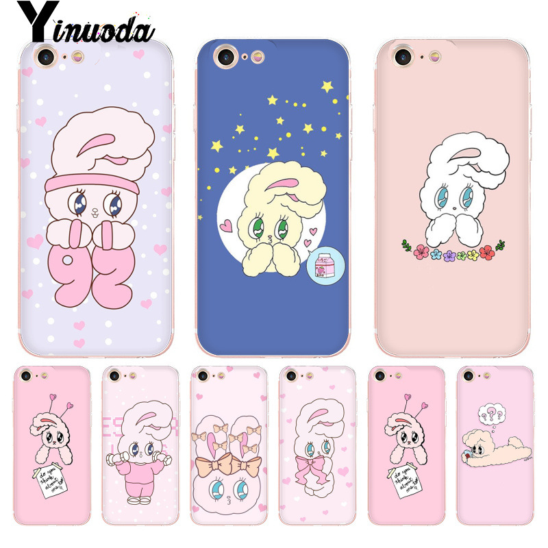 Phone Bags & Cases Yinuoda For Iphone 7 6 X Case Sailor Moon Style Rabbit Animals Transparent Case For Iphone 8 7 6 6s Plus X 5 Xs Xr Xsmax Cover