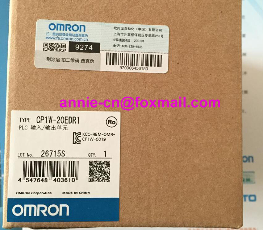 100% New and original CP1W-20EDR1  OMRON  PLC CONTROLLER   Input/output unit 100% new and original cp1w 40edr omron plc controller input output unit
