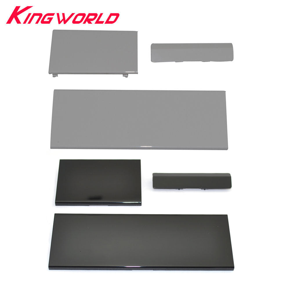 10sets Hight Quality Replacement Memeory Card Slot Lid 3 Parts Door Covers For W-ii Console