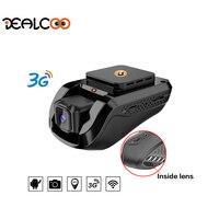 Dealcoo mini 3G WiFi Car DVR 1080P Dash Cam Recorder Rotatable Dual Lens Car Camera Wireless Snapshot Auto Camcorder GPS tracker