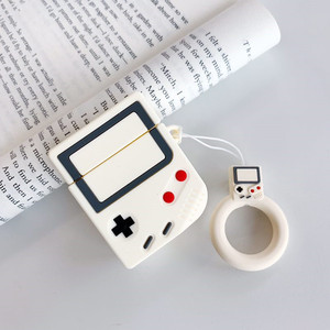Image 3 - Game Controller Cartoon Silicone Bluetooth Earphone Case For Apple AirPods Cute Strap Protection Cover For AirPods Charging Box