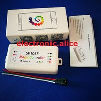 SP105E волшебный регулятор 2048 Пиксели Поддержка на базе IOS и Android приложения для Android ws2812b/ws2811