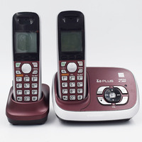 New Color Dect 6 0 Call ID Digital Cordless Phone With Answer System Wireless Base Station