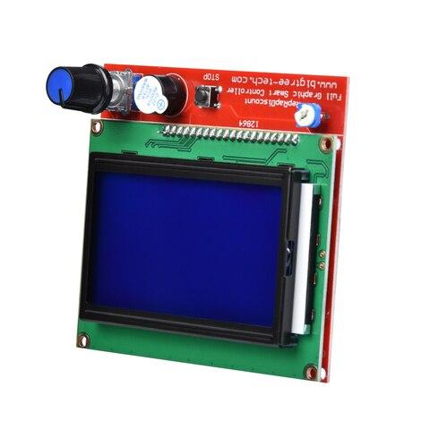 BIQU 12864 LCD Control Panel Smart Controller RAMPS1.4 LCD RepRap MKS GEN L Support Control Board for 3D Printer Karachi
