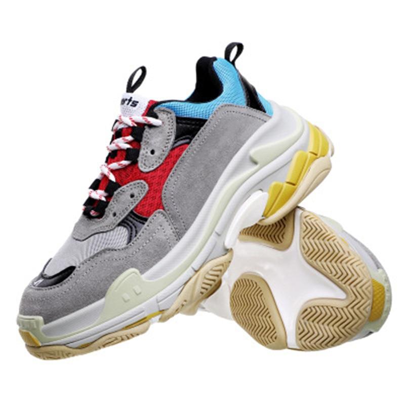 44high Taille Chaude Rétro Chaussures couche 2019 35 Vieux Femmes Super 7 Papa Femelle Six De Nouvelle Sneaker Harajuku Qualité Feu 5 Ins 2 4 6 1 3 Aj3q45SRcL