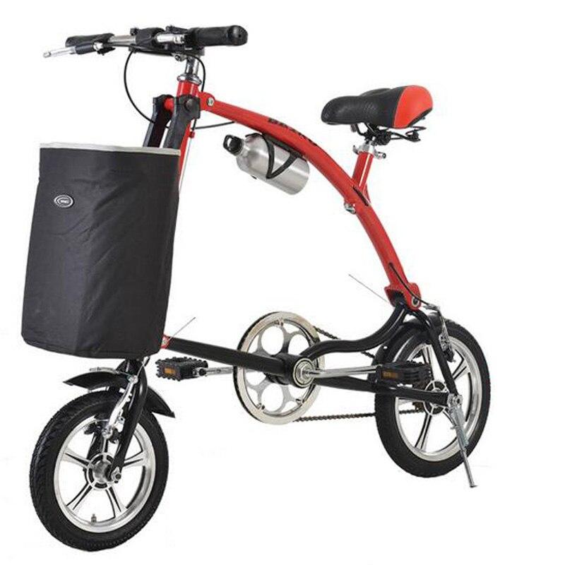 Bmx Mini Folding Bike Scooter 12 Inch Bicycle Aluminum -8982