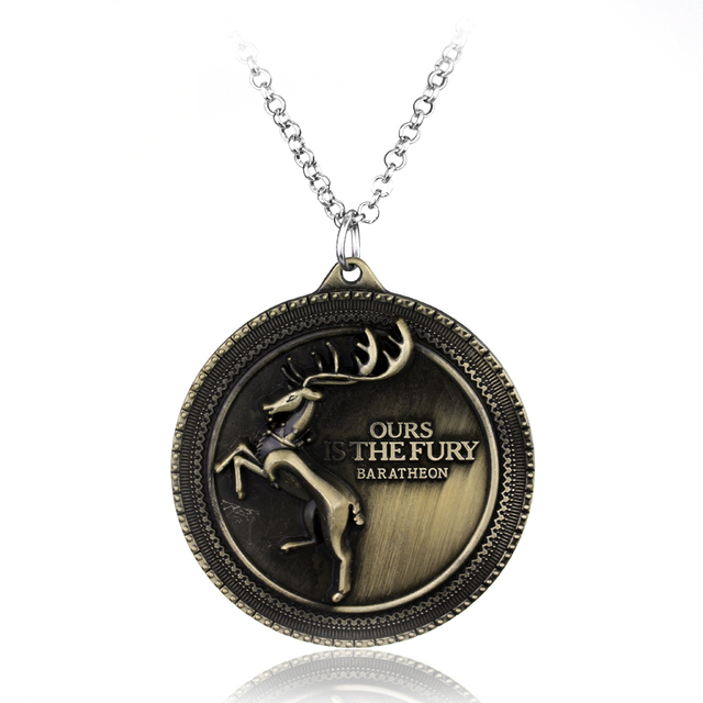 Game of Thrones Themed Necklace (18 Style)