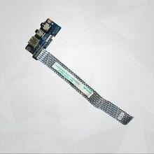 Original para lenovo y500 y510p audio jack usb board qiqy6 ls-8694p nbx0001760j
