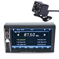 2DIN 6 5 HD 7 TFT HD Display In Dash Car TouchScreen Bluetooth Stereo MP3 MP5