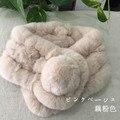 Зима выдра кролика шарф утолщение пункт шерсть меховой воротник теплый шарф