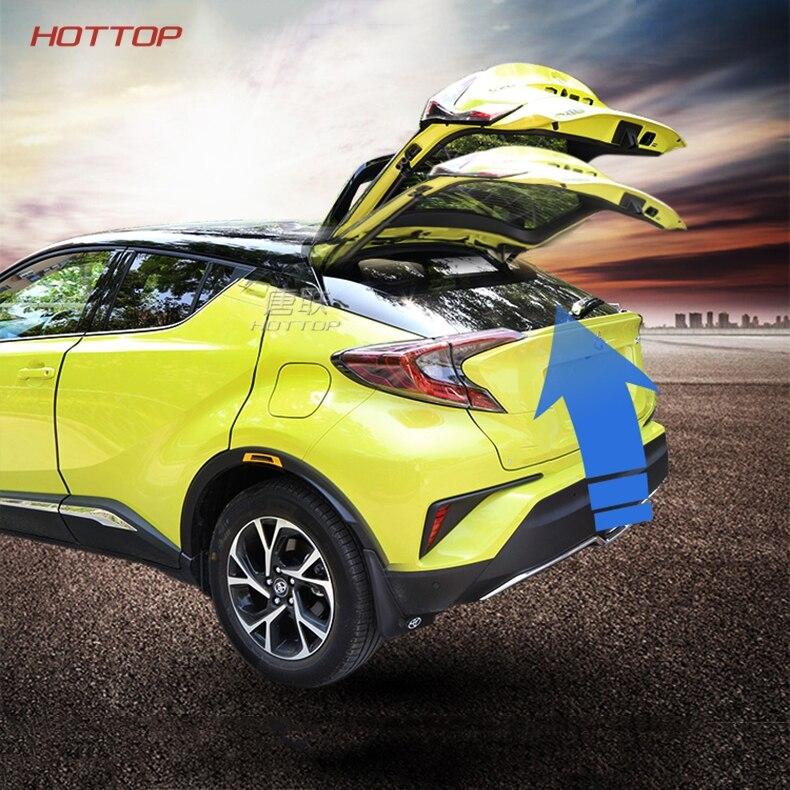 2018 New Electric bagageira reformado para a Toyota CHR C-HR esporte caixa de Cauda cauda porta elétrica inteligente Poder operado porta traseira
