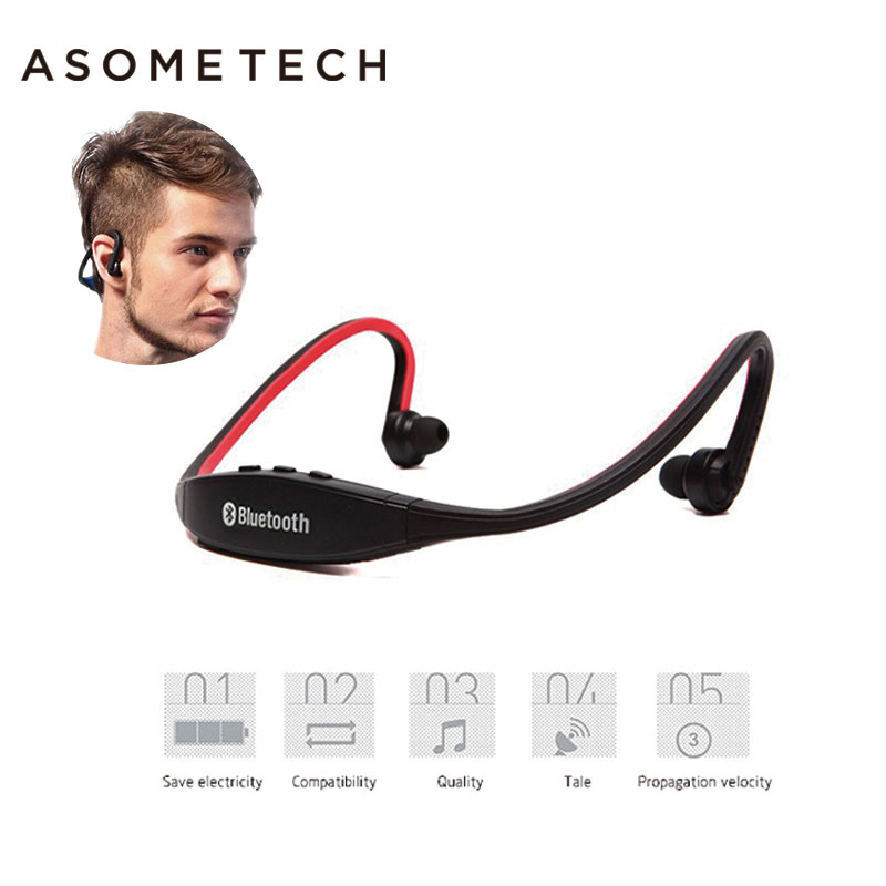 S9 Original Sport Wireless Bluetooth Headset Handsfree Earphones Running Stereo Headphones For iPhone XiaoMi Huawei 6 7 Earphone kz headset storage box suitable for original headphones as gift to the customer