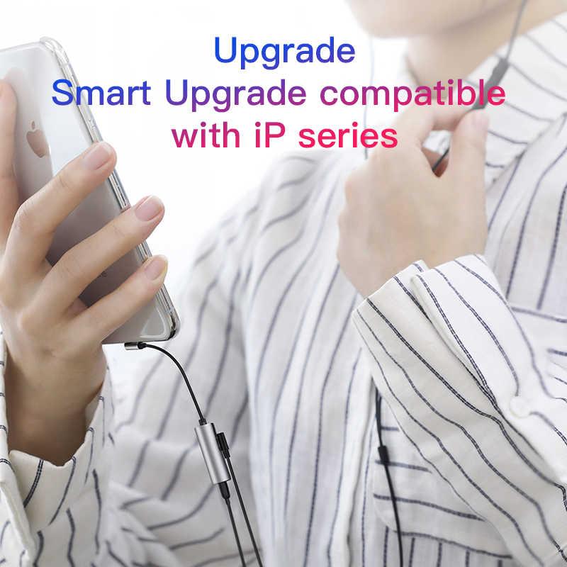 2 In 1 untuk Apple Petir untuk 3.5 Mm Headphone Jack Adaptor Audio Pengisian Converter untuk iPhone X Max XR 11 Pro 8 7 6 S PLUS 5 S 5 Ipad Pro Charger 90 Derajat Asli 8 Pin Kabel Aux Panggilan Musik IOS 13 12 11 Permainan Earphone