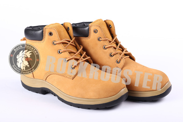 80c79ce27a4 US $64.03 |high quality men fashion Nubuck leather Steel Toe Cap Work Boots  Safety Shoes Lace Up Ankle cool Boot casual shoes-in Oxfords from Shoes on  ...