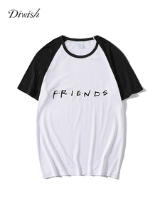 Diwish Summer Tops for Women 2019 Harajuku Aesthetics Plus Size Tshirt Sexy Letter Print Tee Top Fashion Casual Short Sleeve