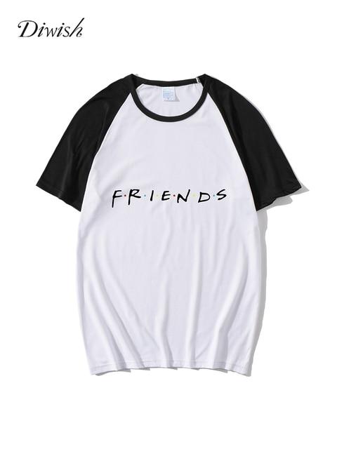 Diwish Summer Tops for Women 2019 Harajuku Aesthetics Plus Size Tshirt Sexy Letter Print Tee Top Fashion Casual Short Sleeve