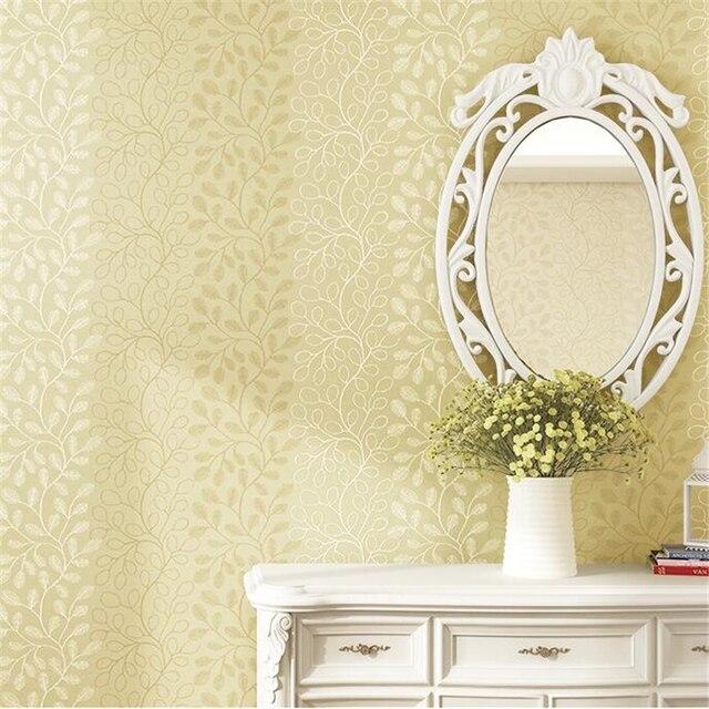 Beibehang papel de parede Koreanische tapete floral vliesstoffe ...