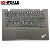 Novo/Orig para Lenovo Thinkpad X1 Carbono terceiro 20BS 20BT Hebraico Teclado Retroiluminado com Descanso de Mãos Touchpad 00HN959 00HT314 SN20G18579