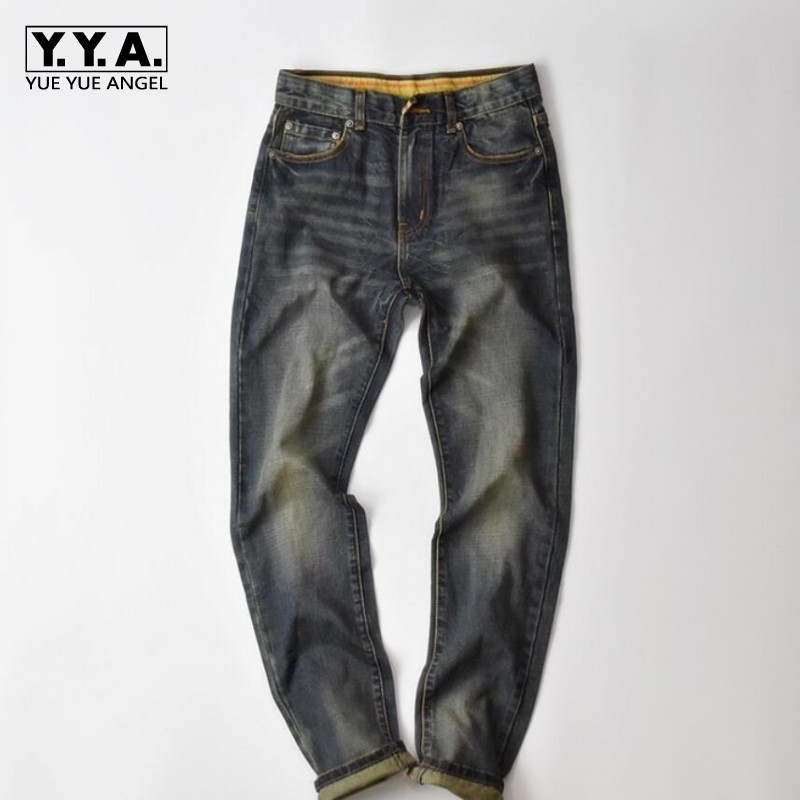 Italian Style Fashion Full Length Solid Skinny Jeans Men Brand Designer Clothing Denim Pants Retro Luxury Casual Trousers Male jeans men fashion full length solid skinny jeans men brand designer clothing denim pants luxury casual trousers male plus size