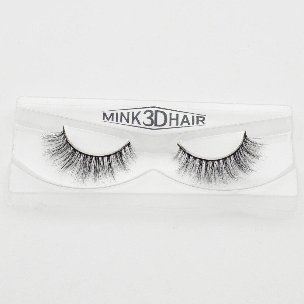 Visofree 3D Mink Eyelashes Upper Lashes 100% Real Mink Strip ...
