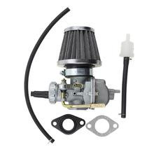 GOOFIT Carburetor with Air Filter for Honda CRF80 XR75 XR80 XR80R Carb Assembly Group-43