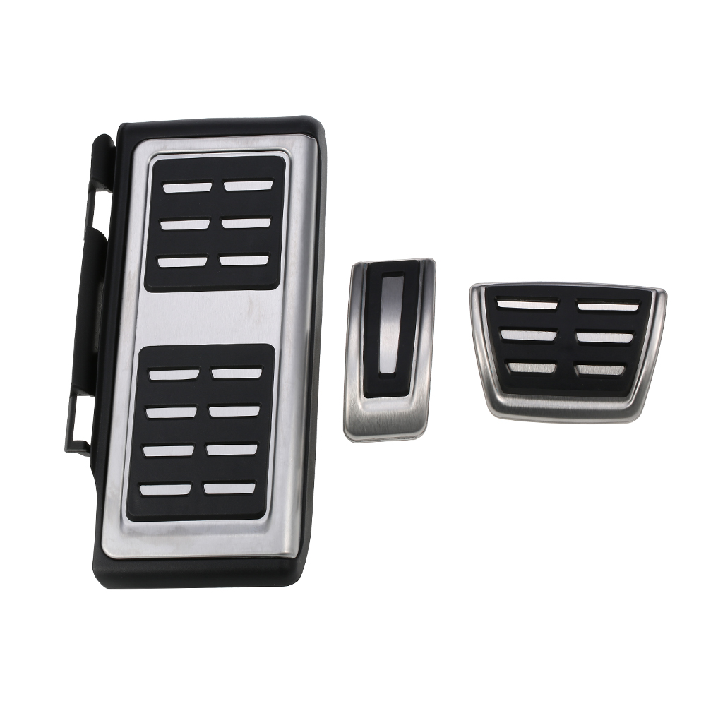 AT Car Fuel Brake Footrest Pedals for VW Golf 7 VII GTi MK7 Audi A3 Left Driving Country