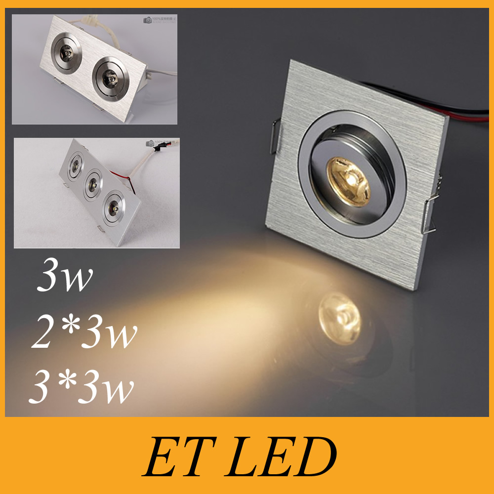 Mini Led Ceiling Spot Light Downlight 3w 6w 9w Dimmable