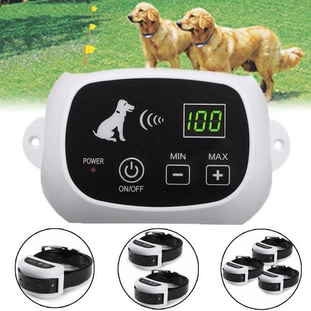 Wiederaufladbare Wireless 1/2/3 Hund Zaun Keine Draht Wasserdicht ...