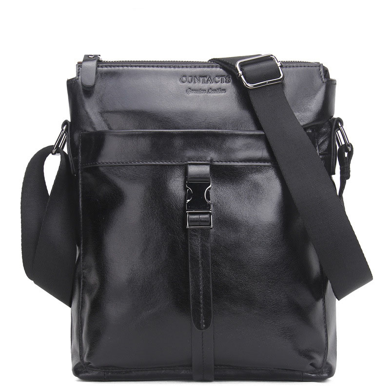 2018 New Arrival Fashion Leather Men Messenger Bags Small Crossbody Shoulder Bag Vintage Business Casual Man High Quality Bag