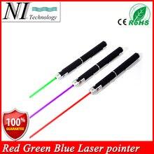 Super Powerful 3PCS Laser Pointer Blue Green Red Puntero Laser Beam Light 5mw Laser Pointer Pen Presenter Canetas Laser