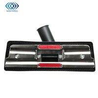 Durable Quality Metal Plastic Black Universal Vacuum Cleaner Brush 35mm Carpet Floor Tool Brush Attachment Swivel