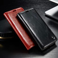Caso carteira para Samsung Galaxy S6 borda G9250 luxo magnética couro genuíno Auto Flip Original casos de cobertura de telefone acessórios
