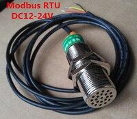 Быстрая Бесплатная доставка modbus rtu DC12 24V звук Сенсор передатчик Модуль Шум детектора и Шум преобразователями