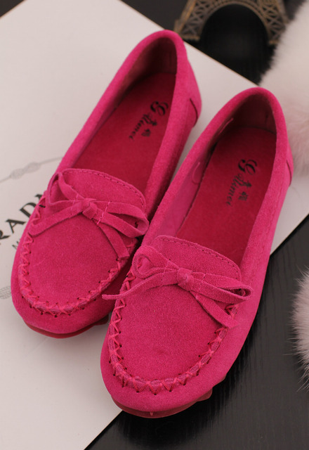 Free shipping Qiqi fashion sweet lena leather comfortable flat gommini driving shoes loafers  star style