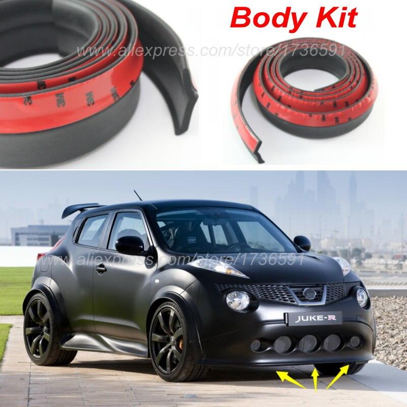 Auto Car Front Lip Deflector Lips Skirt For Nissan Juke For Infiniti ESQ  F15 Body Chassis Side Protection / Spoiler Lip Spliter