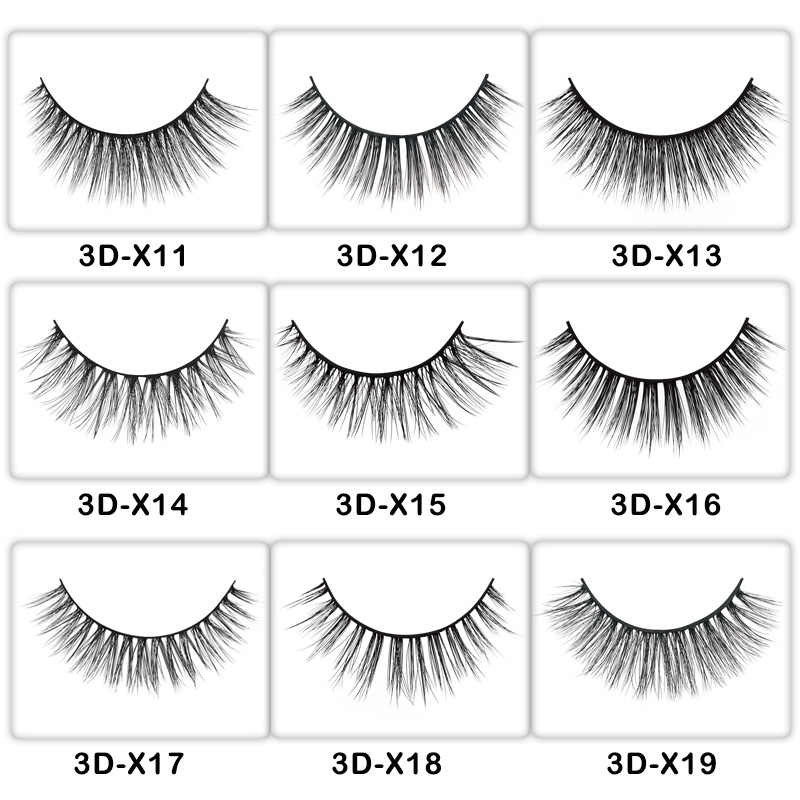 97e7b8d8f59 ... 50Pairs mink eyelashes false lashes real 3d mink lashes private label  eyelash extension makeup fake eyelashes ...