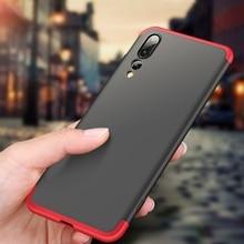 Luxury Protector Phone Case For Huawei P20 Lite Case For Huawei P20 Pro Case Cover For Huawei P20 Coque For Huawei Nova 3e Capa