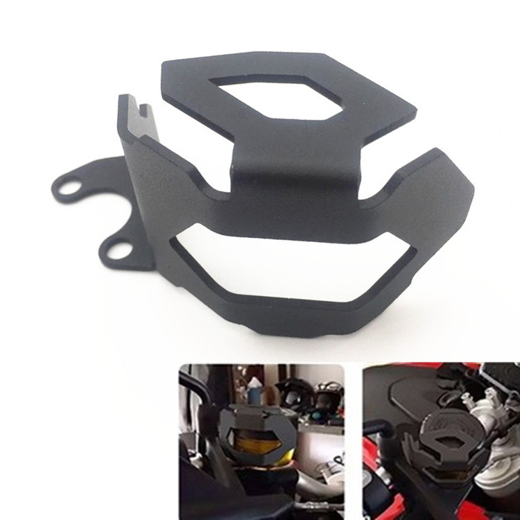 Motorcycle Front Brake Fluid Reservoir Guard Protector Cover fit for BMW F800GS F700GS Free Shipping CNC Aluminum new free shipping motorcycle red front