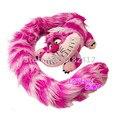 Alice in Wonderland Cheshire Cat Juguete De Felpa Larga Cola Edición Lindo Peluches para Niños Regalos de Navidad Para Niños Chicas