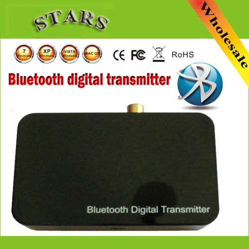 Wireless Bluetooth A2DP/IOPT Handsfree Digital Transmitter 3.5mm Optical Coaxial Audio Stereo Music Receiver Dongle adapter