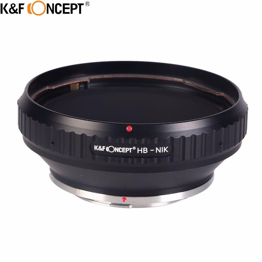 Переходное кольцо для крепления объектива камеры K & F, подходит для крепления объектива Hasselblad к корпусу камеры Nikon F