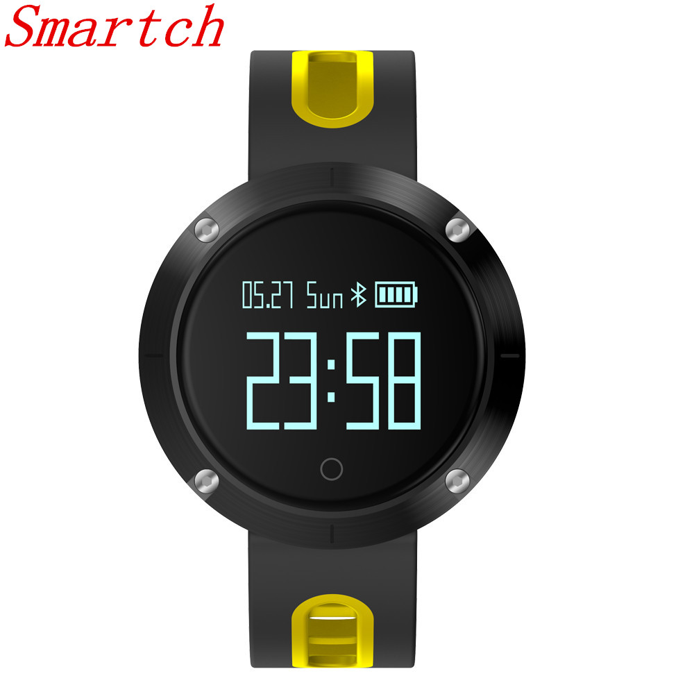 Smartch Smart Bracelet DM58 Heart Rate Monitor Smartband Blood Pressure Monitor Smartwatch IP67 Waterproof Activity Fitness