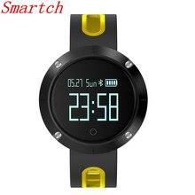 Smartch умный Браслет DM58 сердечного ритма Мониторы SmartBand Приборы для измерения артериального давления Мониторы SmartWatch IP67 Водонепроницаемый активности Фитнес WATC