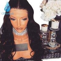SHUMEIDA 150 Density Human Hair Full Lace Wigs Brazilian Remy Full Lace Human Hair Wigs With