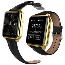 Tragbare intelligente uhren Uhr Sync Notifier Unterstützung Sim-karte Bluetooth-konnektivität Apple iphone Android Telefon Smartwatch Uhr