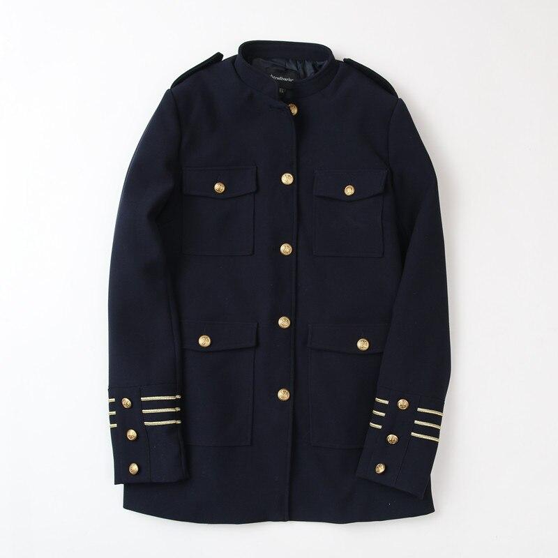 Aliexpress.com : Buy 2017 New Fashion Navy Military Style Jacket ...
