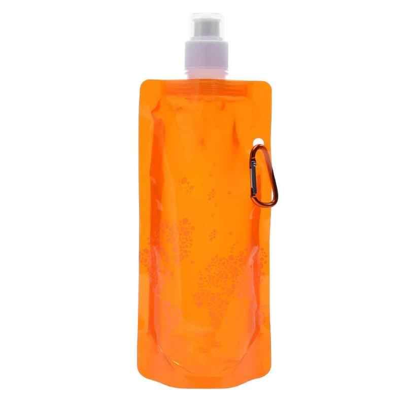 Portable Ultralight Foldable Silikon Air Bag Tas Botol Air Olahraga Luar Ruangan Perlengkapan Hiking Camping Lembut Labu Air Tas Baru