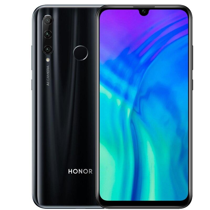 Original honour 20i honour 20 lite téléphone portable 6.21 pouces Android 9.0 FM visage empreinte digitale déverrouiller Smartphone - 2